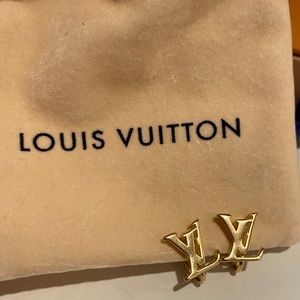 Perfect condition LV earrings